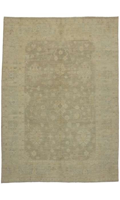 9 x 13 Transitional Oushak Style Rug 80186
