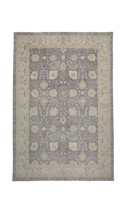 12 x 18 Transitional Oushak Design  Rug 80216
