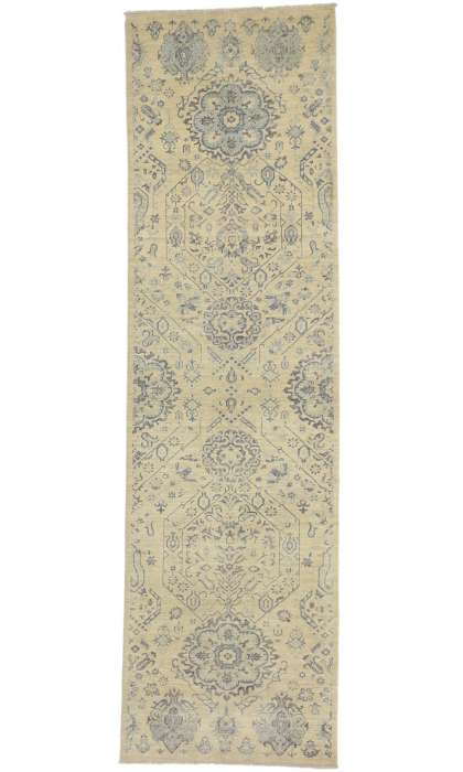 Modern Style Transitional 3 x 11 Rug 80224