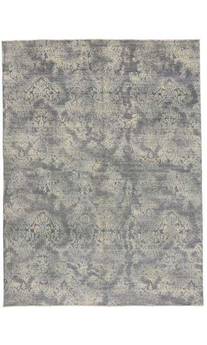 9 x 12 Transitional Abstract Style Rug 80230