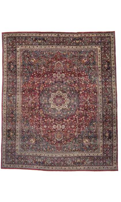 16 x 19 Persian Mashad Rug 74986