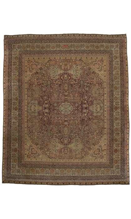 16 x 18 Antique Kermanshah Rug 74990
