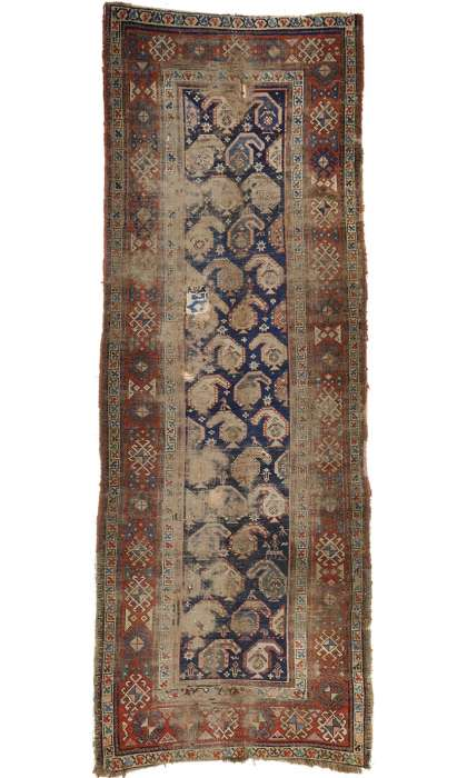 4 x 10 Antique Russian Rug 76609