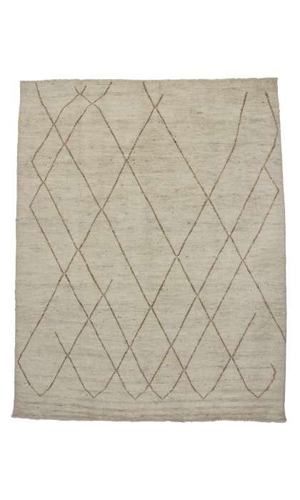 Contemporary Moroccan Design 10 x 13 Rug 80260