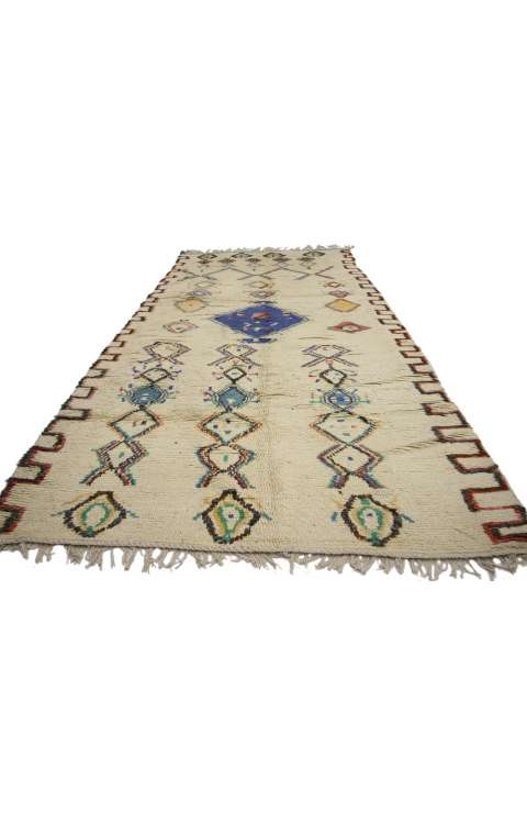4 x 10 Vintage Moroccan Rug 20136