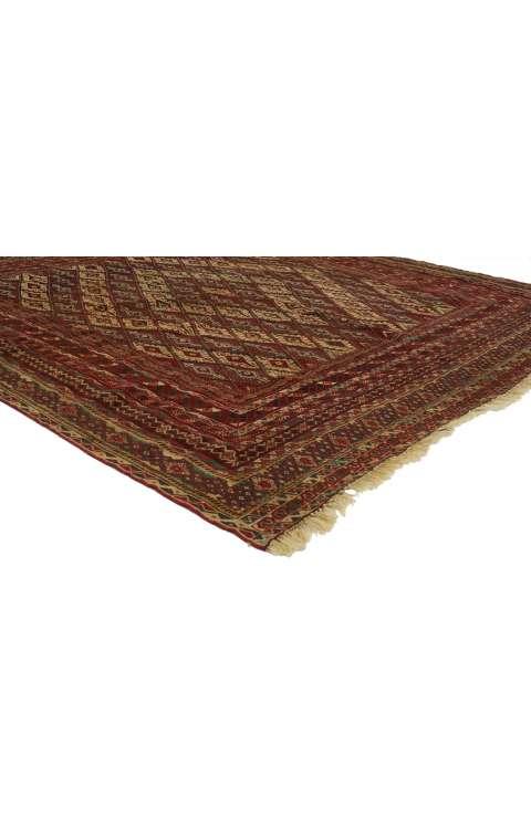 6 x 6 Vintage Afghan Rug 77004