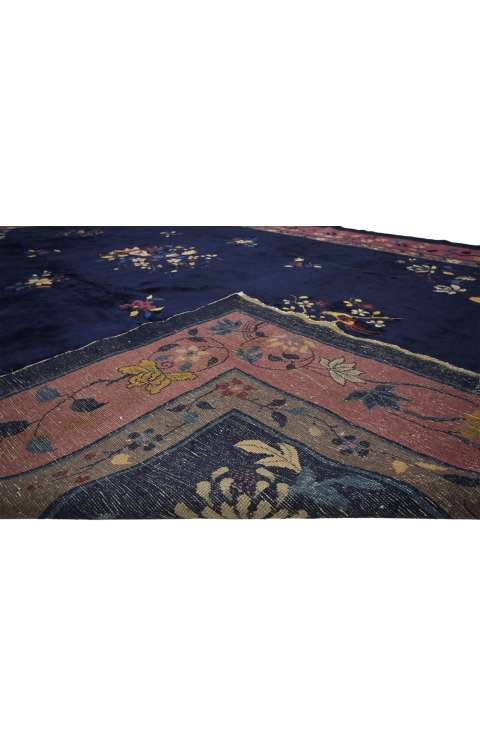 10 x 15 Antique Chinese Rug 77139