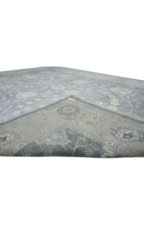 8 x 12 Transitional Classic Oushak Rug 30020