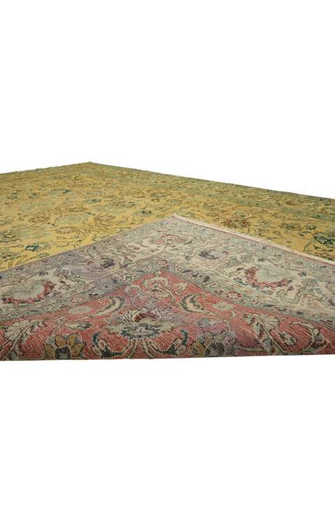 7 x 11 Vintage Tabriz Rug 76308