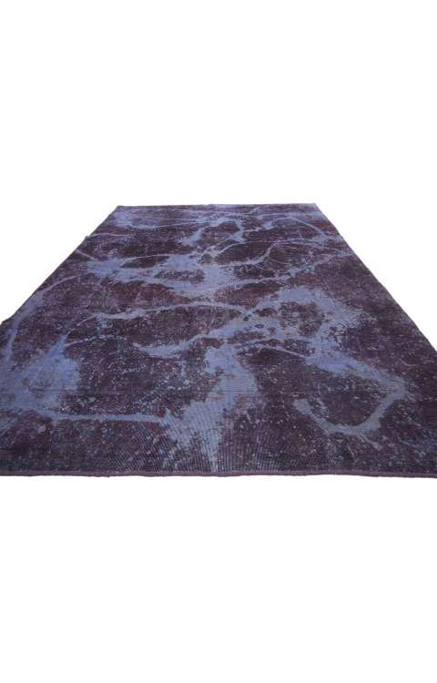 6 x 9 Vintage Overdyed Rug 60776