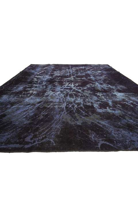 10 x 12 Vintage Overdyed Rug 60778