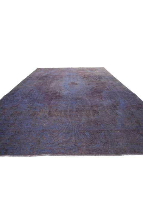8 x 11 Vintage Overdyed Rug 60787