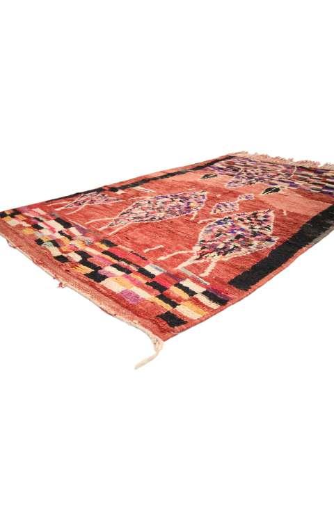 4 x 6 Vintage Moroccan Rug 20008