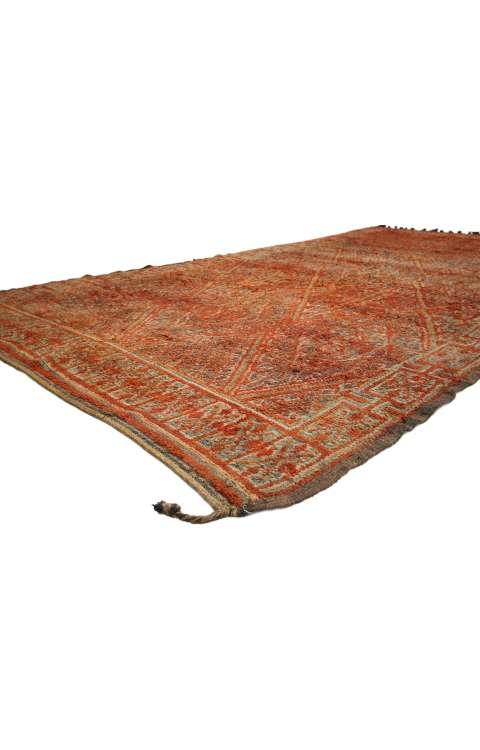 7 x 13 Vintage Moroccan Rug 20120