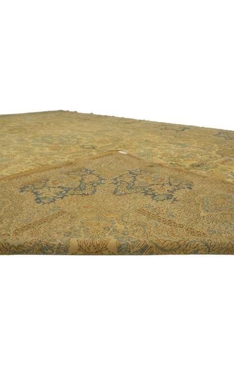 12 x 18 Antique Kerman Rug 73654