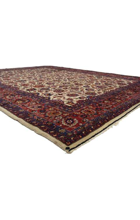 10 x 14 Antique Mashad Rug 74041