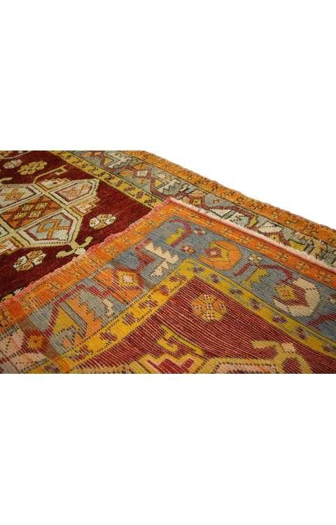 3 x 9 Antique Oushak Rug 73673