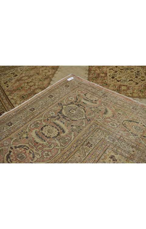 9 x 13 Antique Tabriz Rug 74938