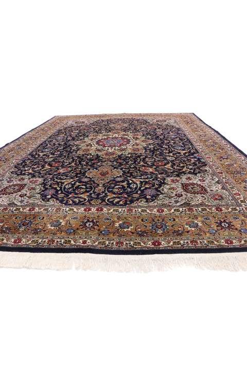 10 x 12 Vintage Tabriz Rug 77188
