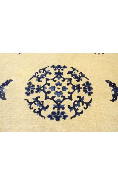 4 x 7 Antique Chinese Rug 77193