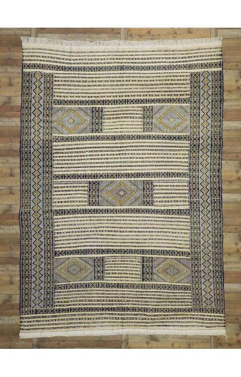 9 x 13 Vintage Moroccan Kilim Rug 20885