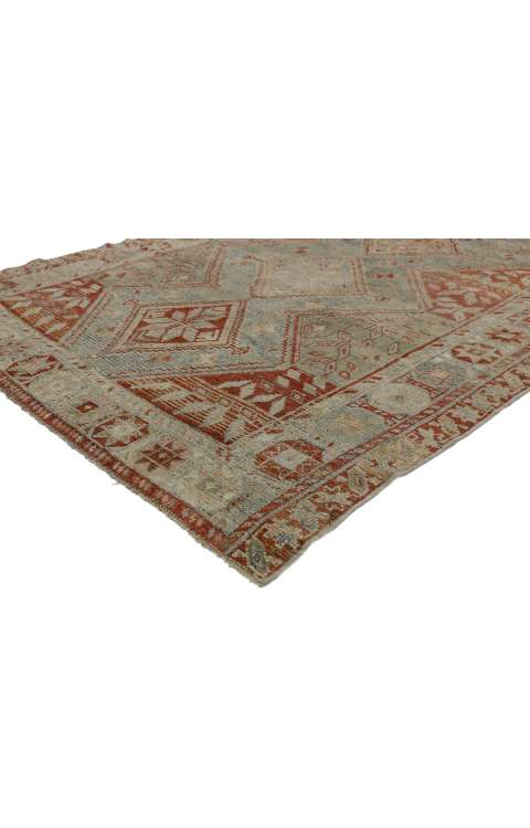 5 x 8 Antique Persian Shiraze Rug 52455