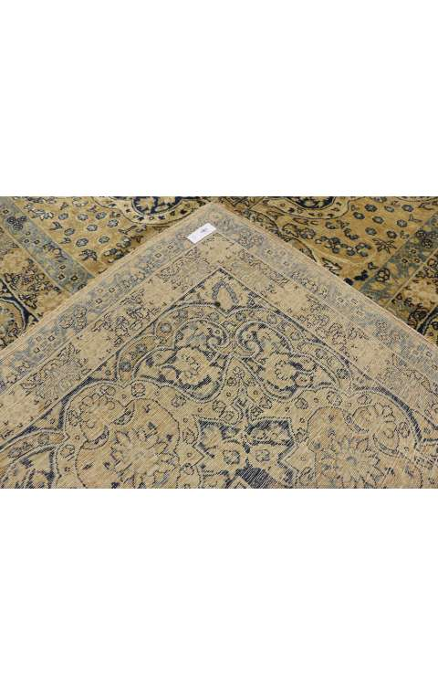 11 x 16 Antique Yazd Rug 73956