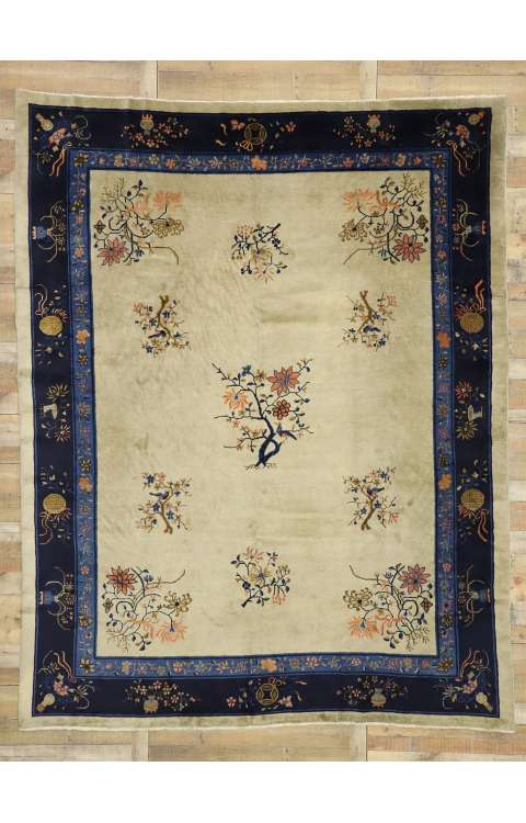 9 x 11 Antique Peking Rug 77230