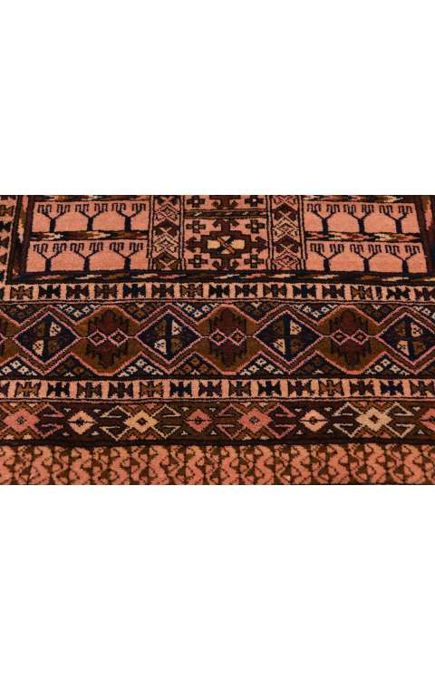 3 x 5 Vintage Afghan Karabin Enssi Tent Door Hanging 71983