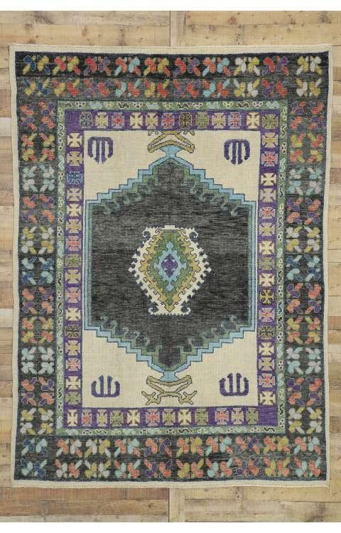6 x 9 Oushak Rug 52523