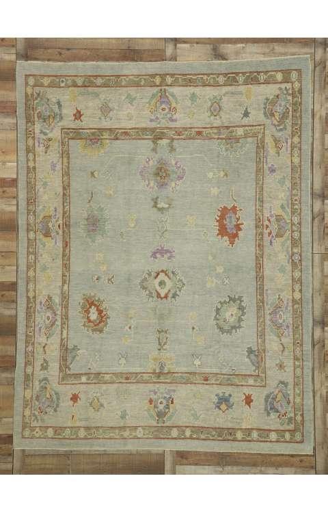 8 x 10 Oushak Rug 52525