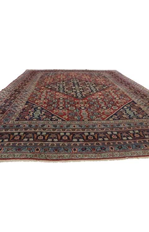 9 x 12 Antique Mashad Rug 71963