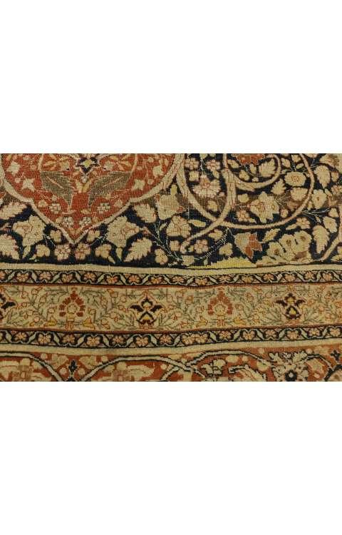 9 x 13 Antique Tabriz Rug 73130