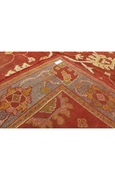 8 x 23 Antique Oushak Rug 73536