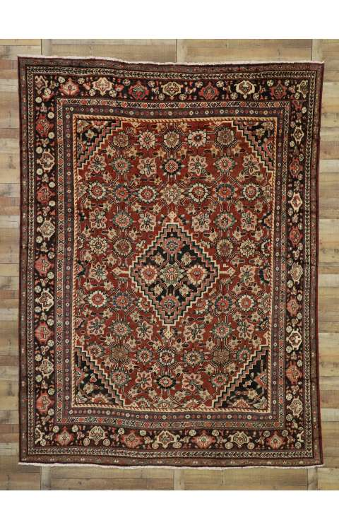 9 x 12 Antique Mahal Rug 76318