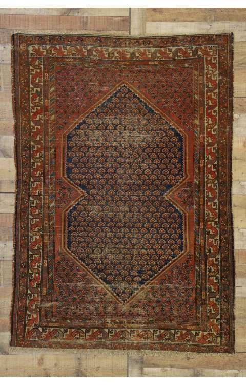 4 x 6 Antique Malayer Rug 77251