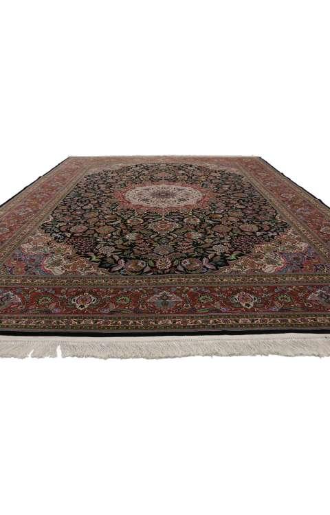 9 x 12 Vintage Tabriz Rug 77256