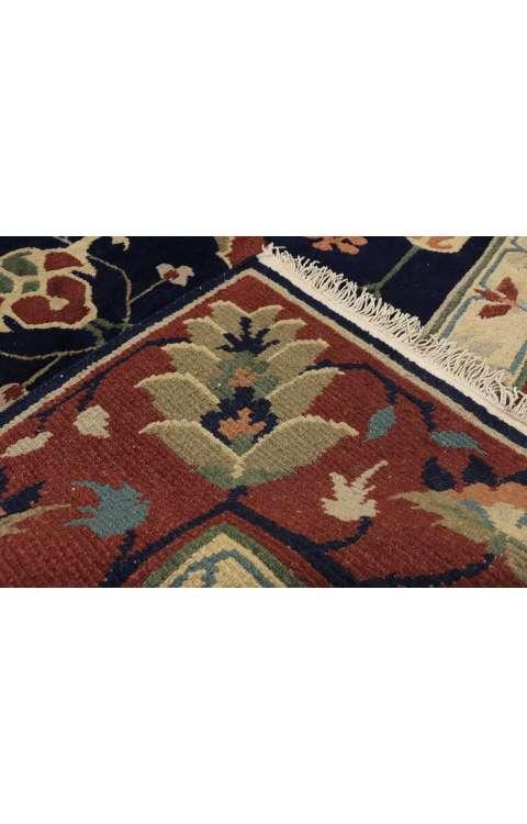 8 x 10 Vintage Indian Rug 77262