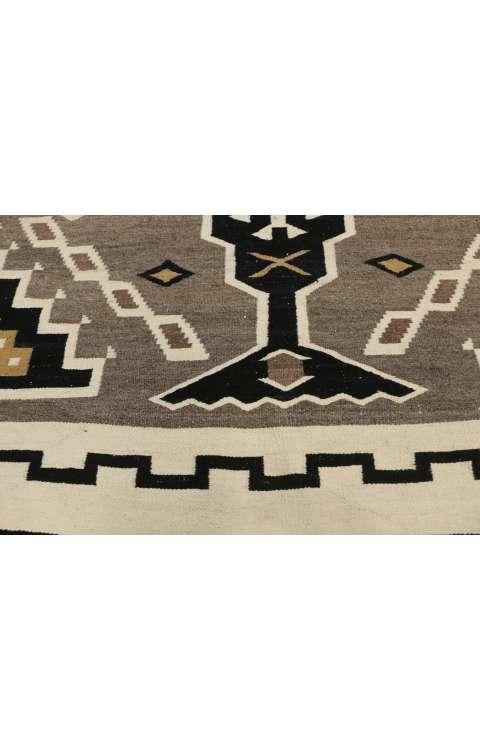 6 x 10 Vintage Navajo Kilim Rug
