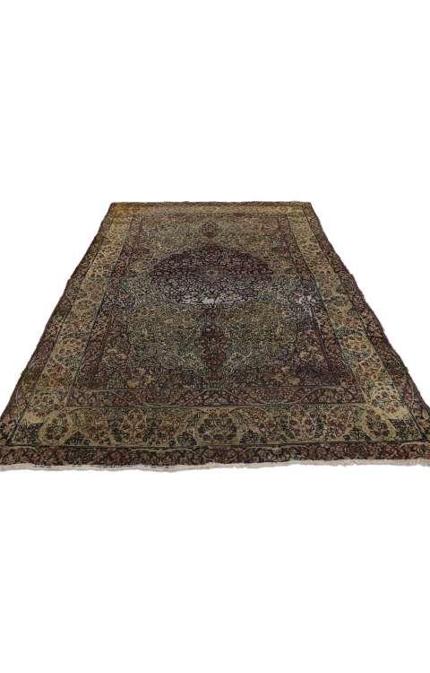 4 x 6 Antique Kermanshah Rug 73167