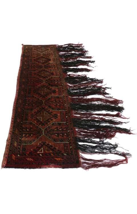 1 x 5 Vintage Afghani Tapestry 77254