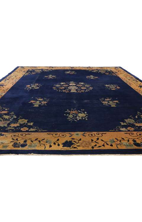 9 x 12 Antique Chinese Rug 77264