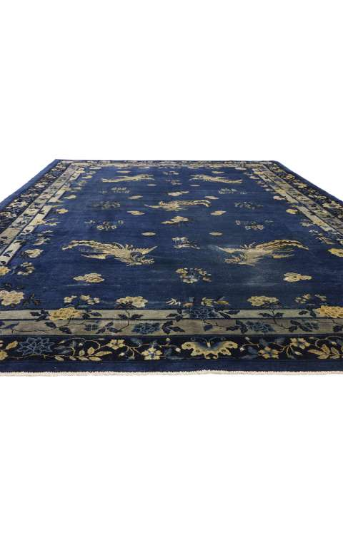 9 x 14 Antique Chinese Rug 77266