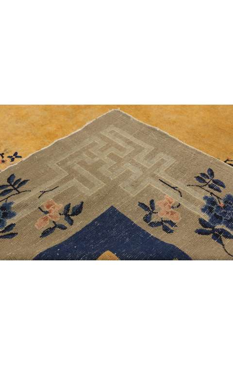 11 x 15 Antique Chinese Rug 77267