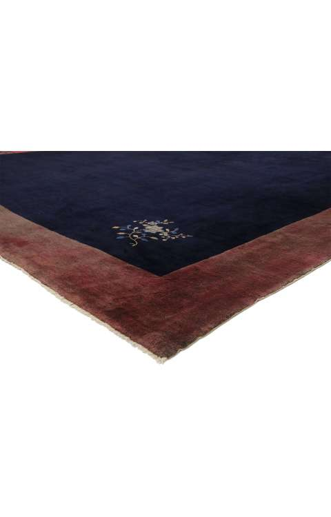 12 x 13 Antique Chinese Rug 77268