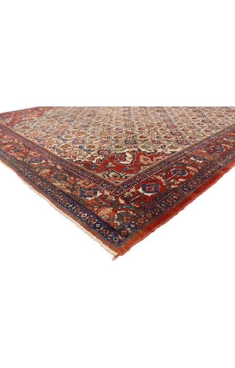 9 x 12 Antique Mahal Rug 77277