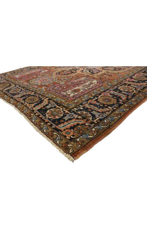 8 x 11 Antique Heriz Rug 77282