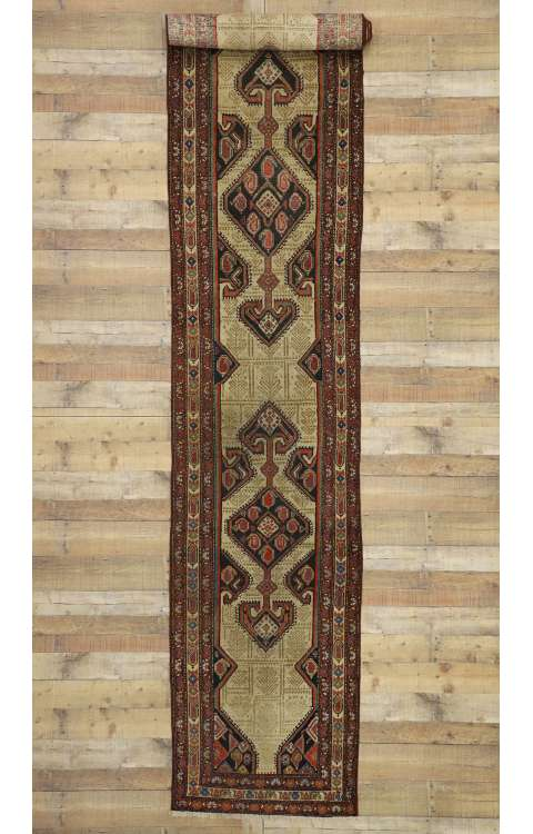 3 x 18 Antique Malayer Rug 77283