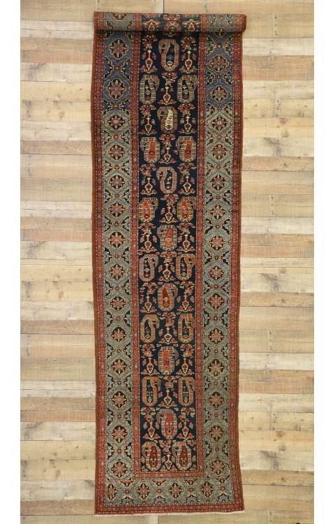 3 x 14 Antique Malayer Rug 77304