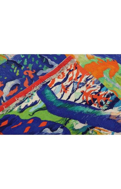 4 x 4 Vintage Swedish Tapestry 77047